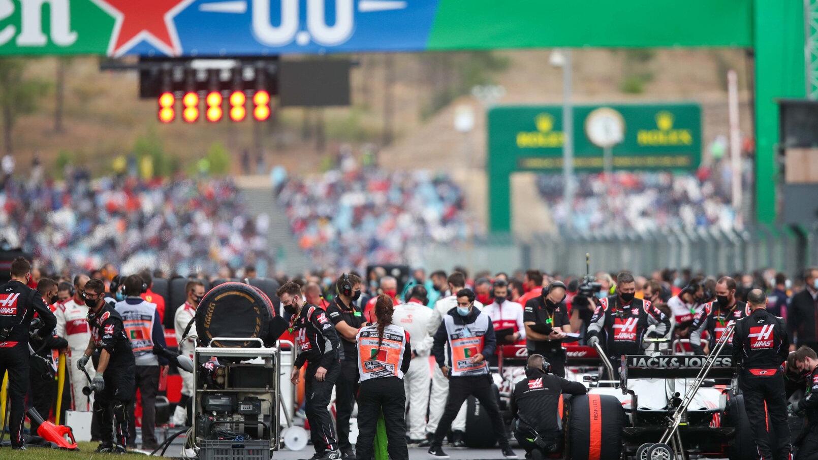 F1 Rennkalender 2021