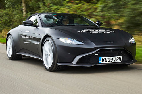 2020 Neuer Aston Martin Vantage Roadster News Autowelt Motorline Cc